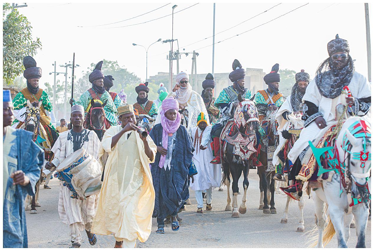 Hawan Angonci, the Hausa-Fulani Wedding event