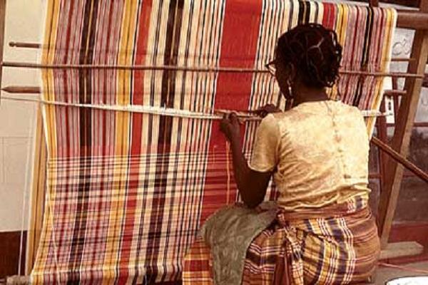 Tiv Anger Weavers, Benue State, Nigeria.