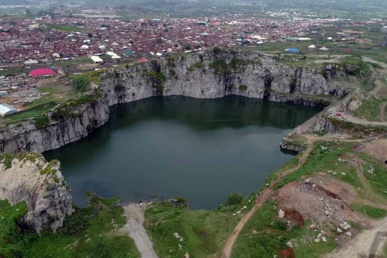 Overview of Crushed Rock, Mpape, Abuja