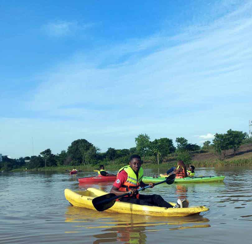 Kayaking at Kayak Abuja