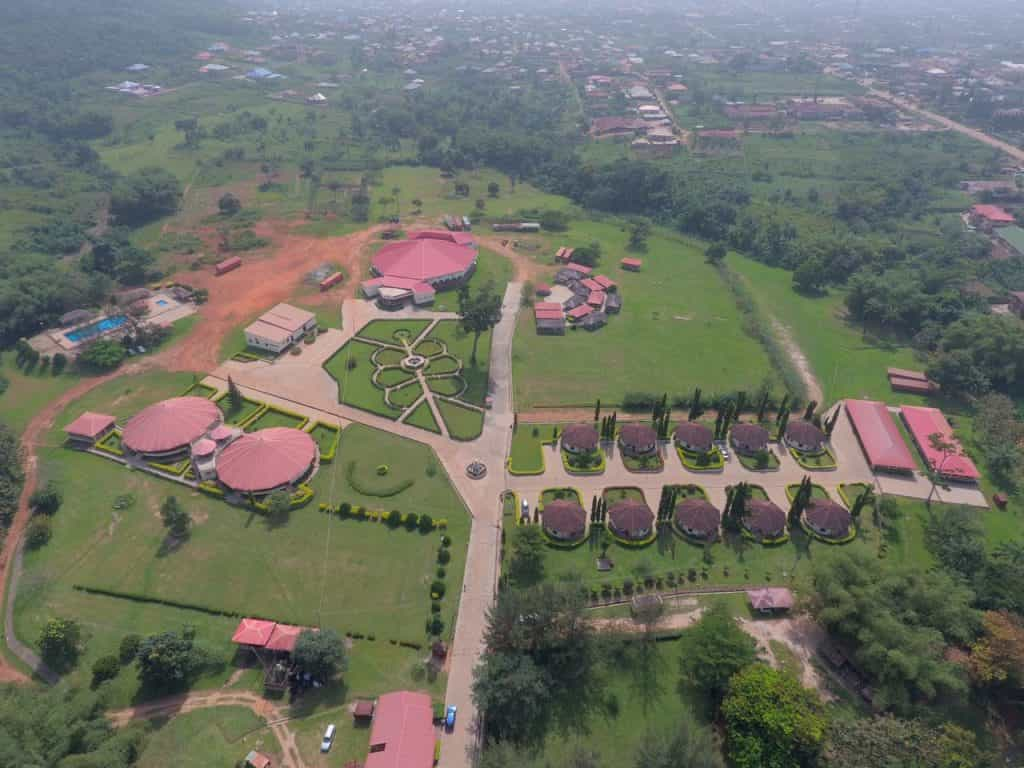 Zenababs Half Moon Resort, Osun State.